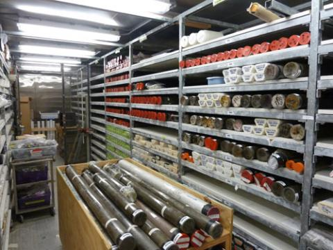 Walk-in Refrigerator with Core Samples