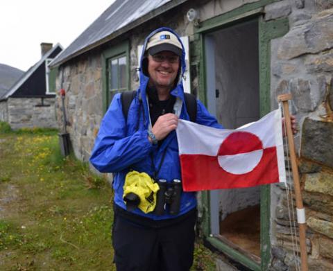 Bill Schmoker, Nanortalik, Greenland