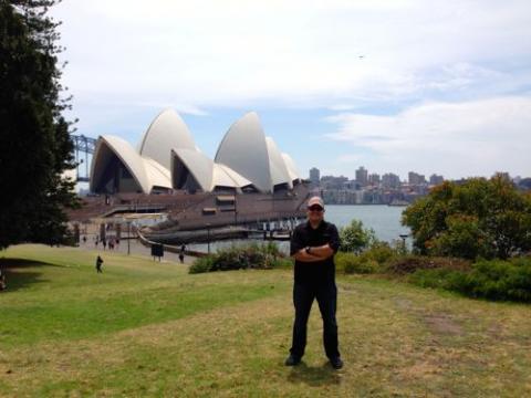 Brian DuBay in Sydney