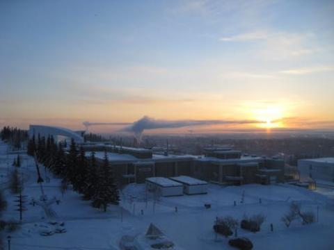 Fairbanks sunrise