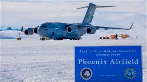Phoenix Airfield First Landing