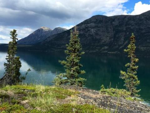 Kusawa Lake, Yukon
