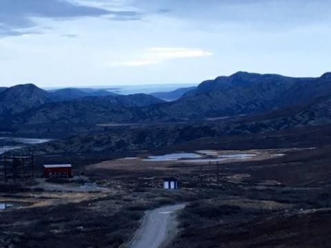 View of Kangerlussuaq from Raven's Cliff