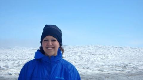 Kelly McCarthy on Greenland Ice Sheet