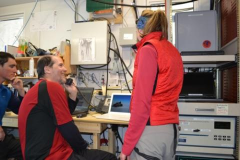 PolarCONNECT from Summit Station, Greenland