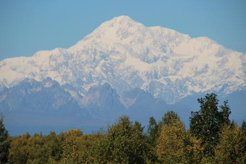 South view of Denali