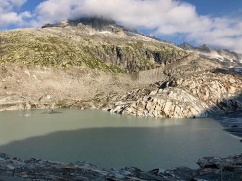 Rhone lake