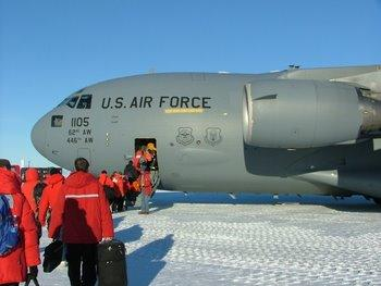 Loading the C-17