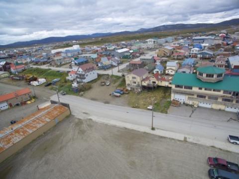 Drone over Nome AK