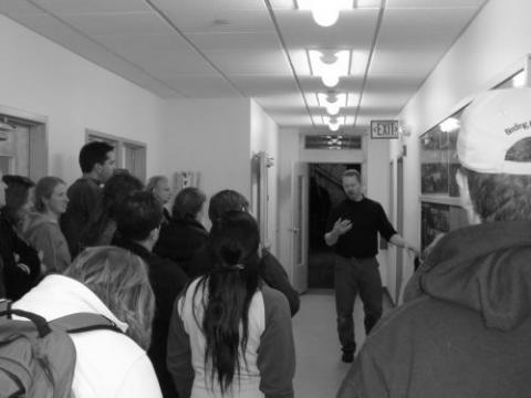 PolarTREC teachers at the CCHRC