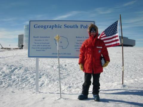 Me at the south pole!