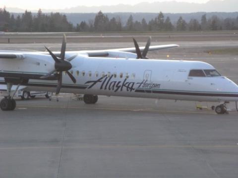 Plane to Fairbanks