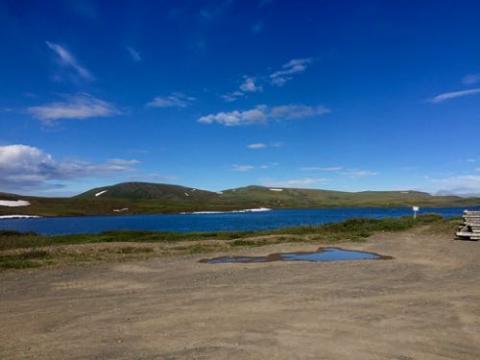 Sunny Day at Toolik Lake