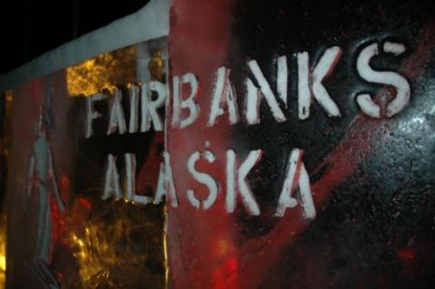 Fairbanks in Ice