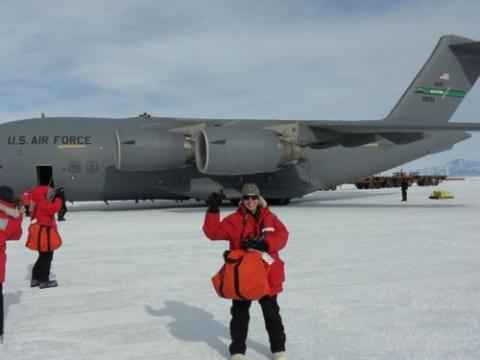 Michelle and the C-17
