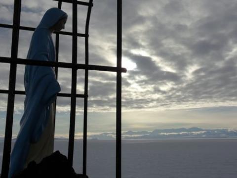 Our Lady of the Snows Shrine and Antarctica