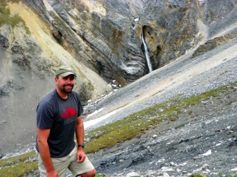 In Front of Atigun Falls