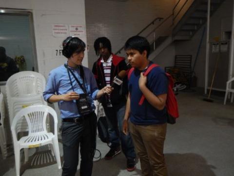 WBEZ's Lewis Wallace interviews Francisco Flores