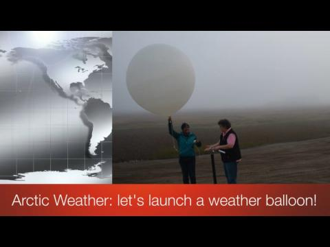 Screen shot of video title Arctic Weather