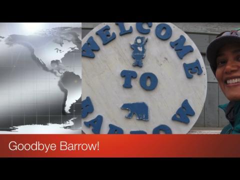 Screen shot of video title Goodbye Barrow