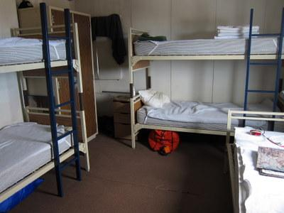 The Bunks At The McMurdo Fire Station