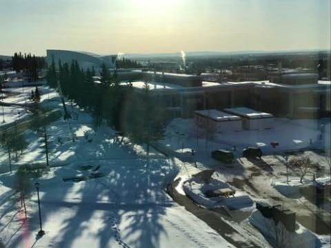 PolarTREC Orientation, Fairbanks, Alaska. Day one.