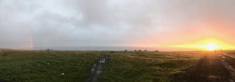 Sunrise in Savoonga