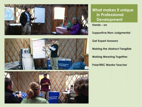 AK to NSTA: Highlights of climate change course in Alaska for local and global teaching