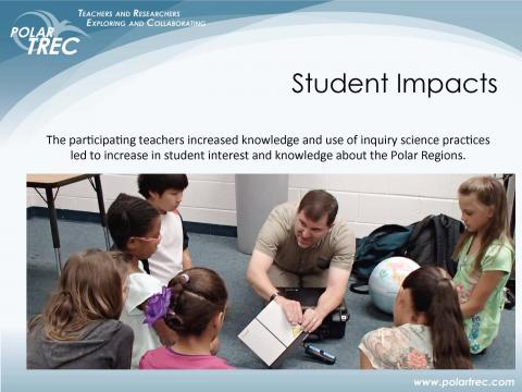 Students respond to the field: Teaching with research experiences creates future scientists.