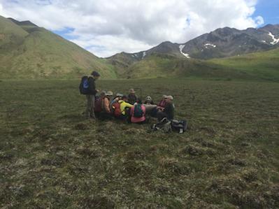 Climate Change course participants, Denali National Park, 2016. Photo by Janet Warburton.