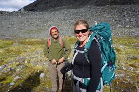 Hiking in ANWR