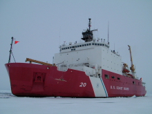 US Coast Guard Cutter Healy