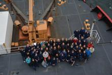 All researchers and Coast Guard crew aboard the USCGC Healy Expedtion 1901.