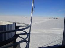 View from the South Pole Station
