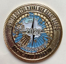United States Naval Sea Cadet Corps 2020 Arctic Buoy Program coin