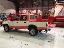 Truck used for Ramp Survey