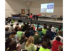 Presentation at Hilliard Horizon Elementary School