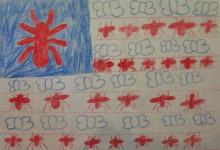 Fourth Grade Winning Flag