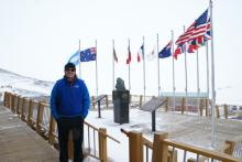 First Day in Antarctica