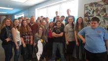 My 8th period class and I