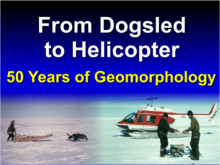 50 Years of Geomorphology