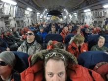 Inside a C-17