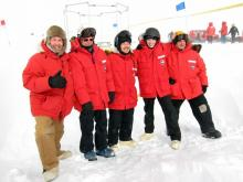 Our IceTop team poses for one last picture.