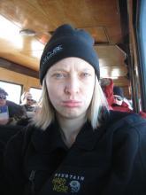 I'm very sad to leave Antarctica.