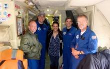 Pilots, Engineer, PolarTREC teacher