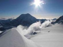 Mount Foraker from Middle Hunter ridge