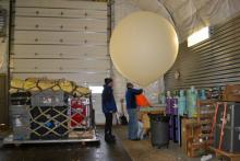 Filling Up The Balloon With Helium