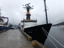 The Oceanus at Dutch Harbor, Alaska