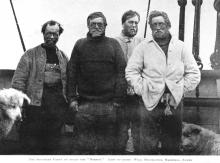 Shackleton and his men