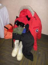 This is the Cold Weather Gear we will be required to wear at the South Pole